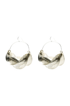 Zia Fulani Silver Earrings - Product List Image
