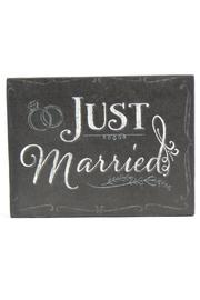 Maggie B Just Married Magnet - Product Mini Image