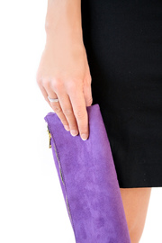 Victoria Khoss Foldover Clutch - Side cropped