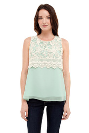 Shoptiques Product: Crochet Woven Top