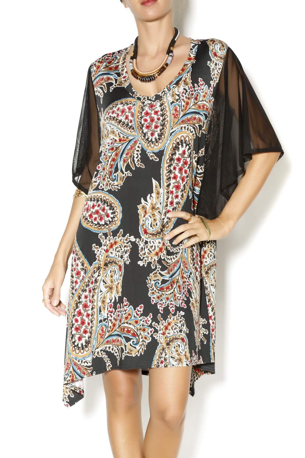 Uncle Frank Flutter Sleeve Dress - Main Image