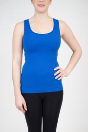 Shoptiques Product: Seamless Ribbed Tank - Front cropped