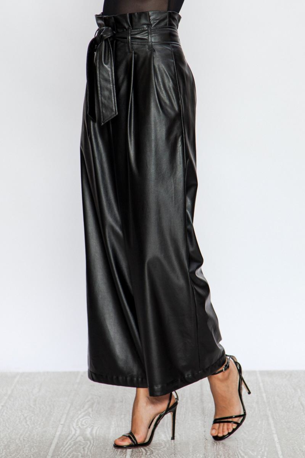 A. Calin Faux Wides Pants - Side Cropped Image