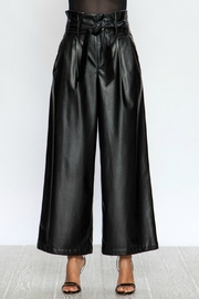A. Calin Faux Wides Pants - Back cropped