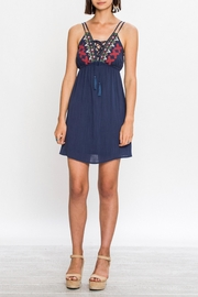 A. Calin Lined Spaghetti Strap Dress - Product Mini Image