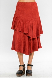 A. Calin Tiered Ruffle Skirt - Front cropped