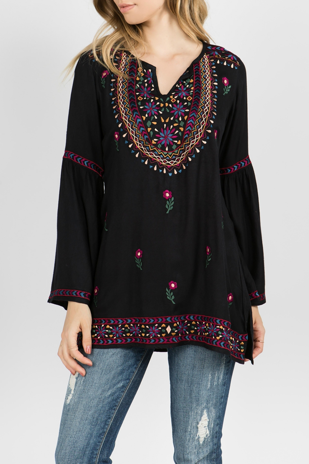 A&A Embroidered Bell Tunic - Main Image