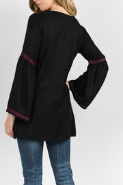 A&A Embroidered Bell Tunic - Front full body