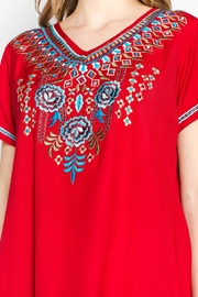 A&A Embroidered Bliss Tunic - Back cropped
