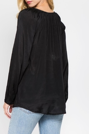 A&A Embroidered Peasant Blouse - Side cropped