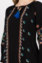 A&A Embroidered Peasant Tunic - Other