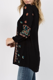 A&A Embroidered Peasant Tunic - Side cropped