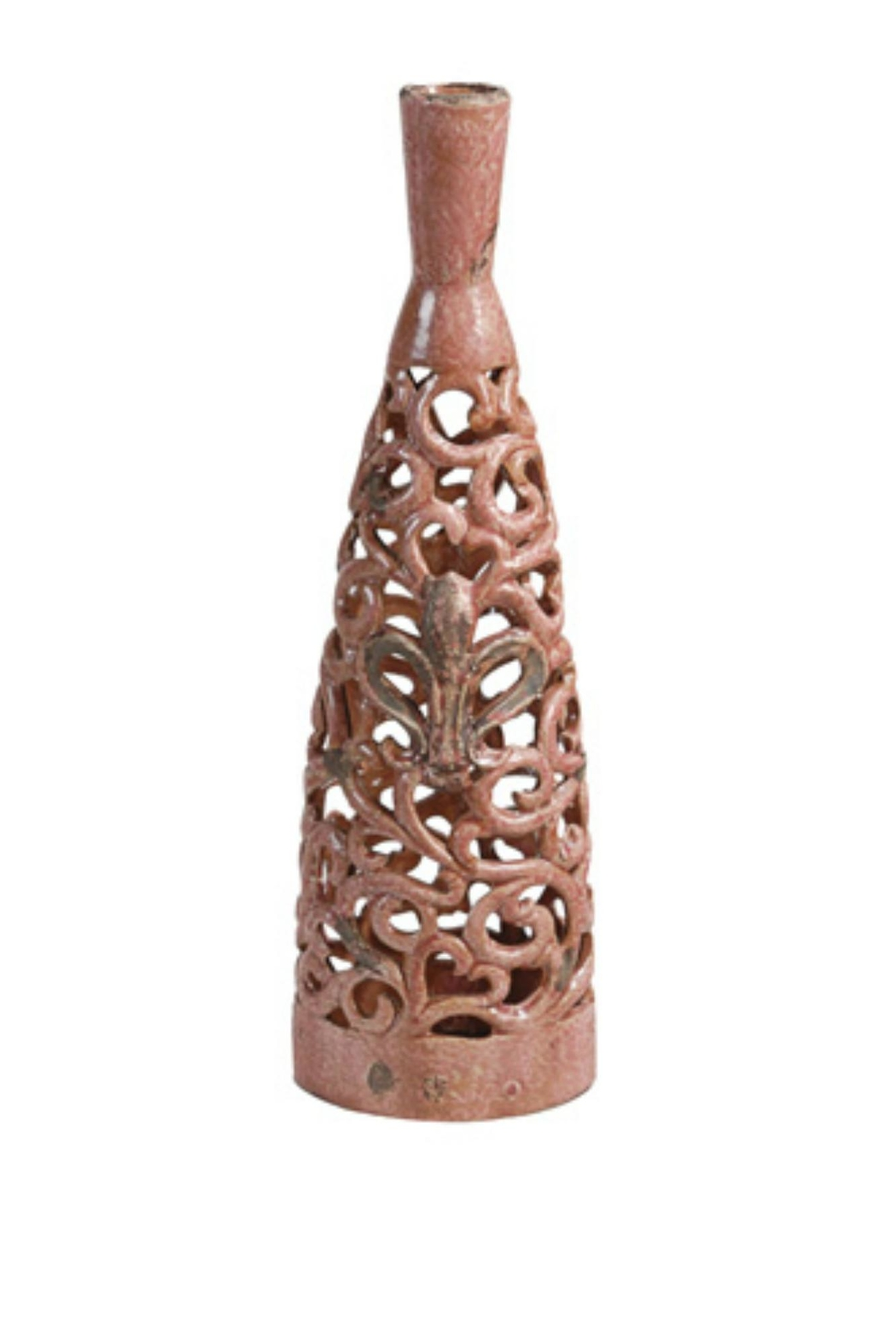 A&B Home Lg Blush Vase - Front Cropped Image