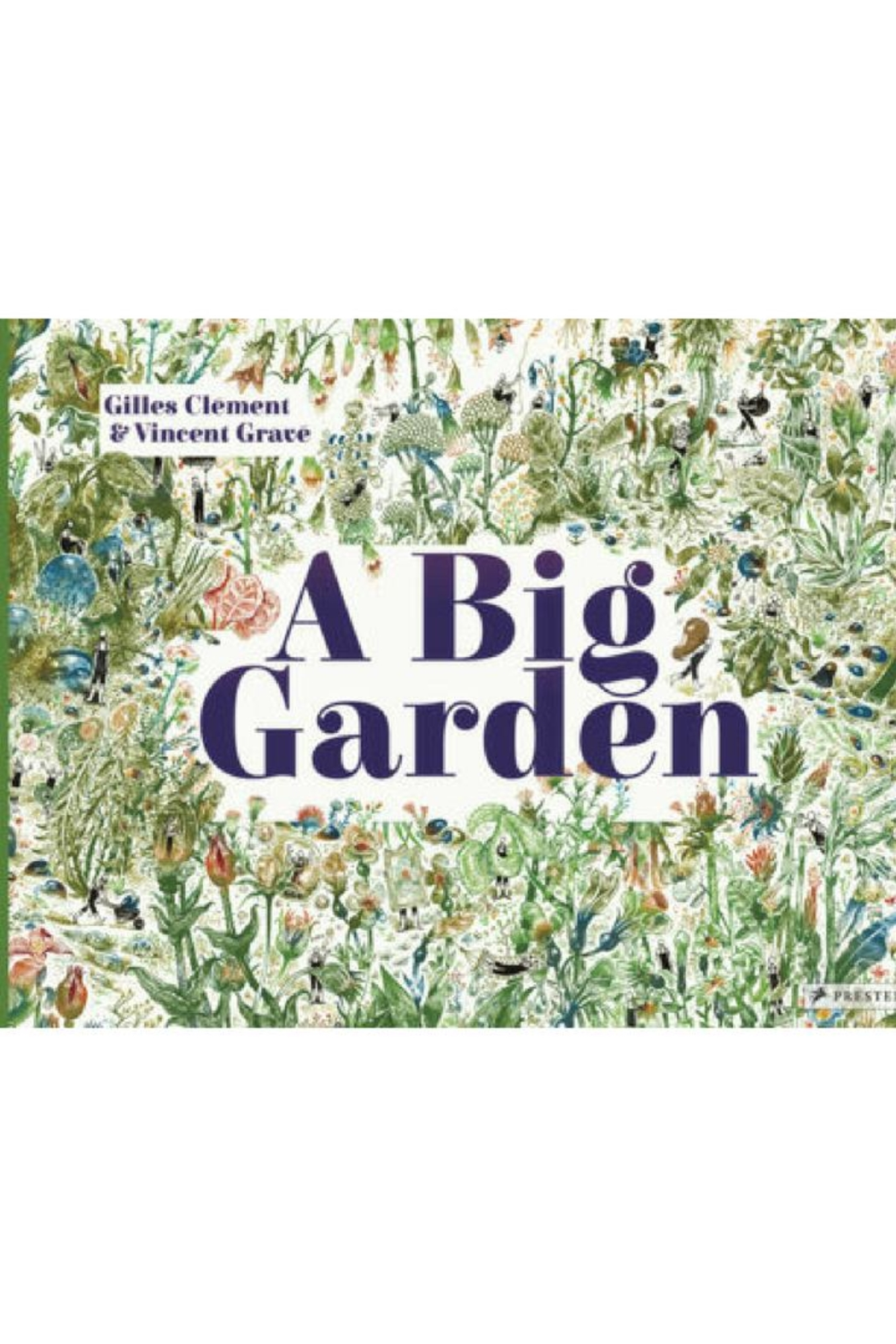 Penguin Books A Big Garden - Front Cropped Image