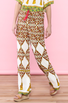 Shoptiques Product: High-Waist Straight Pants