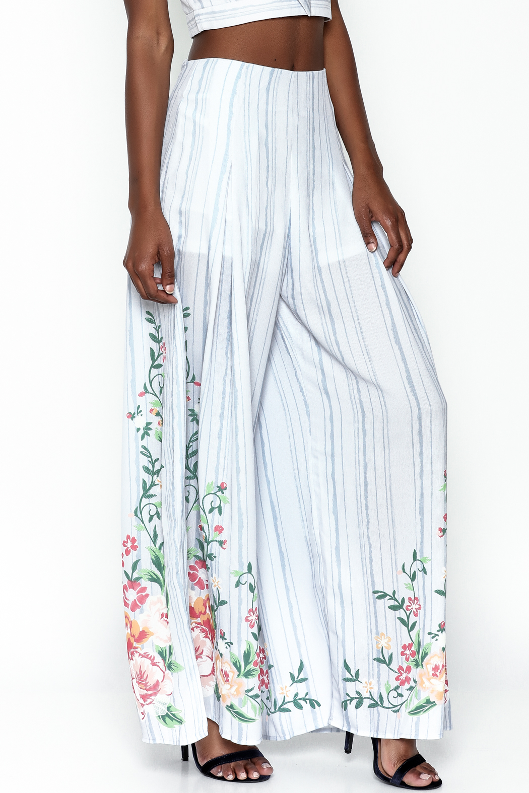 A. Calin Wide Leg Pants - Front Cropped Image