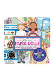 Eeboo A Day In Paris Paper Dolls: Baker & Painter - Product Mini Image