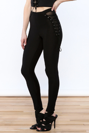 A Ellen Black High Waist Pants - Product Mini Image