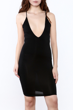 Shoptiques Product: Black Knee Dress