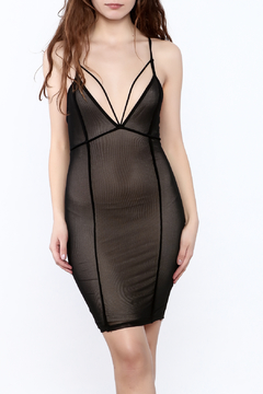 Shoptiques Product: Sleeveless Mesh Dress