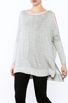 a.gain Grey Tunic Top - Product List Image