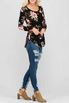 a.gain Floral Long-Sleeve Top - Alternate List Image