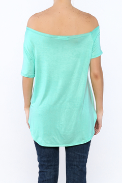 a.gain Turquoise Tunic Top - Alternate List Image