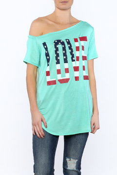 a.gain Turquoise Tunic Top - Product List Image