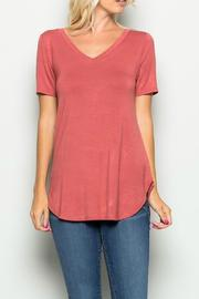 a.gain Soft Jersey Tee - Front cropped