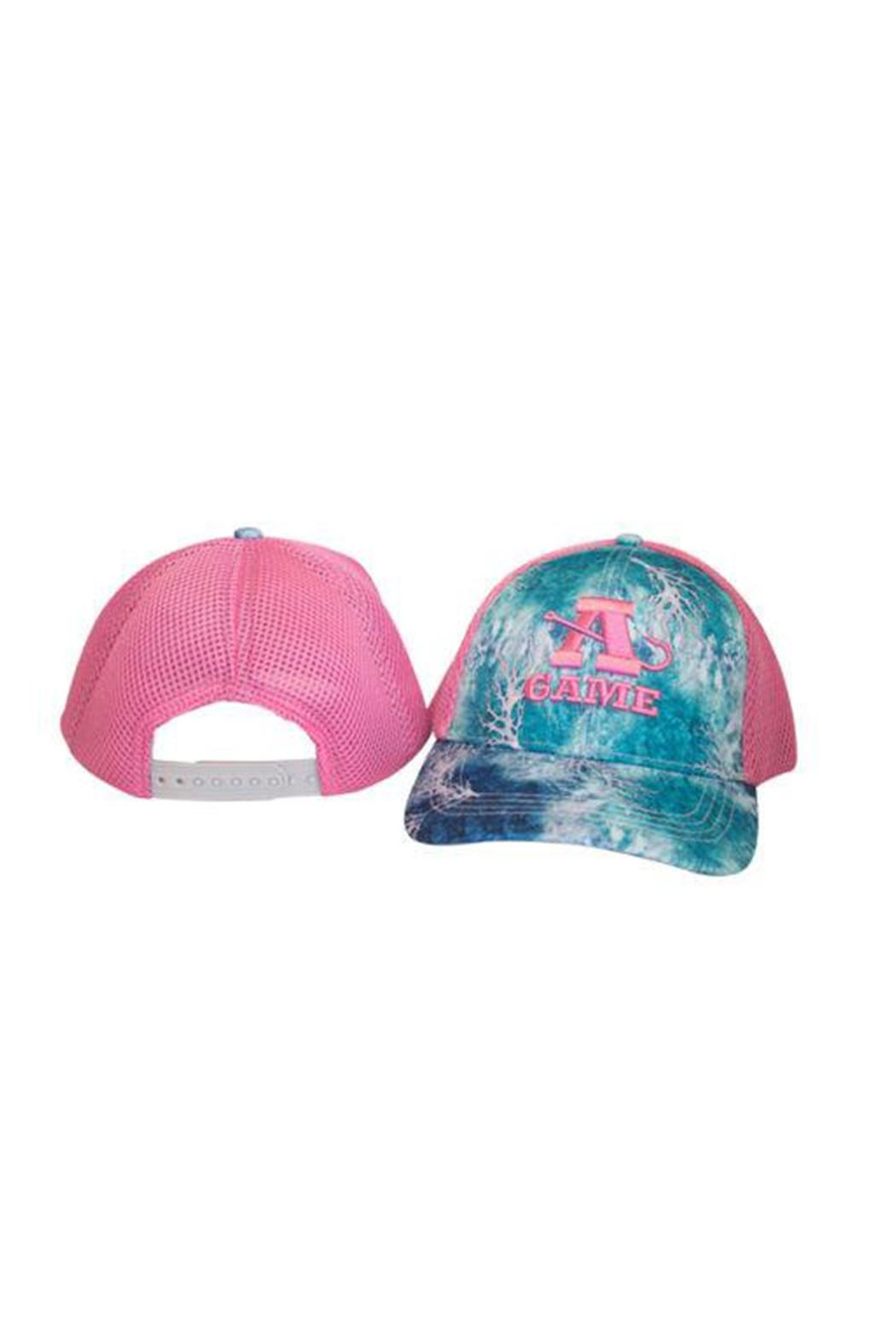 A-Game Camo A-Game Pink Hat - Main Image