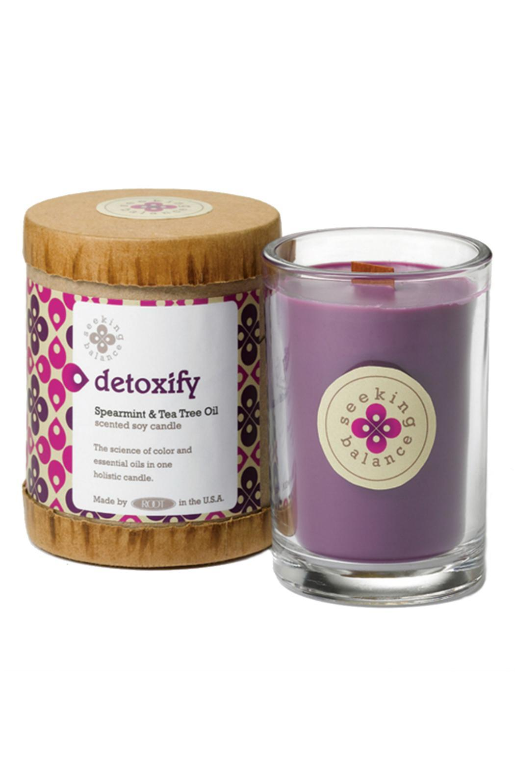 A.I. Root Candle Co. Holistic Candle Detoxify - Front Cropped Image