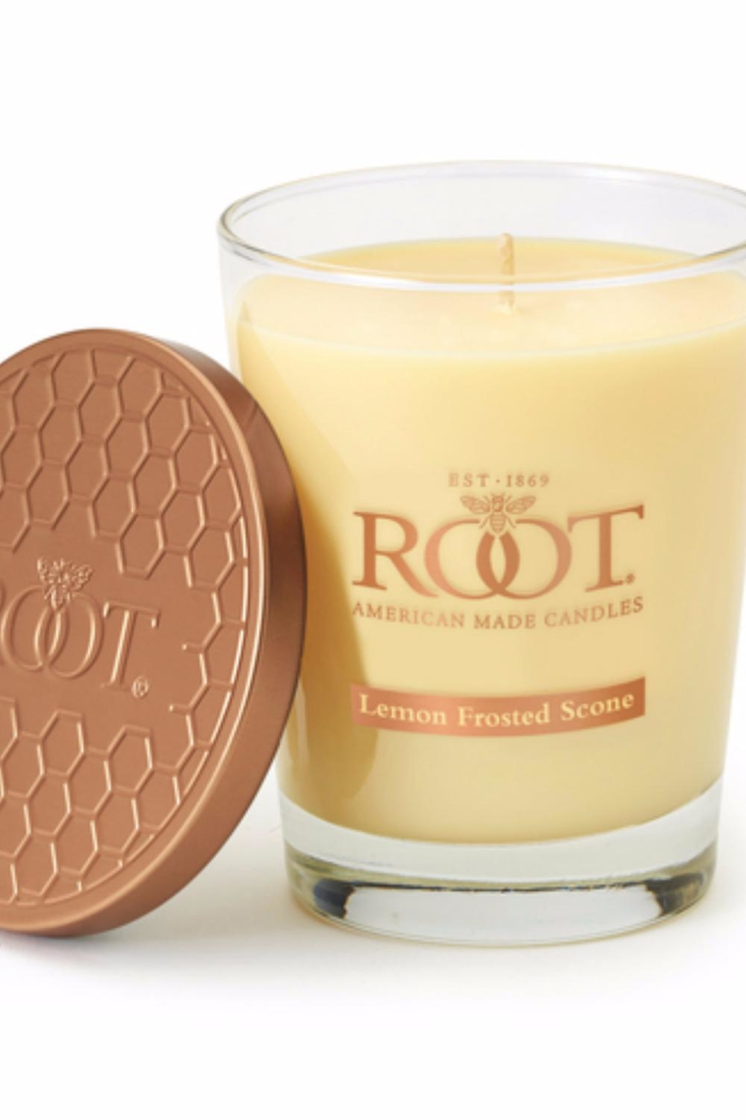 A.I. Root Candle Co. Lemon Frosted Candle - Main Image