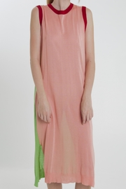 Thread+Onion A-Line Knit Dress - Front full body