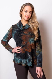 Sno Skins Cowl neck top, A-line, long sleeve - Product Mini Image