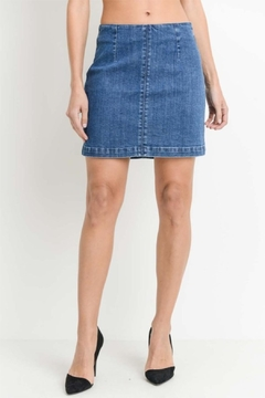 Just USA A-Line Mini Skirt - Product List Image