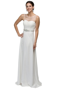Shoptiques Product: A-Line Off White Bridal Gown