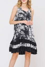 Apparel Love A-LINE RUFFLE HEM DRESS - Product Mini Image