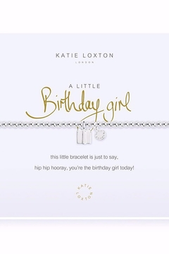 Katie Loxton A Little Birthday Girl Bracelet - Product List Image