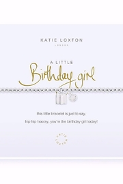 Katie Loxton A Little Birthday Girl Bracelet - Product Mini Image