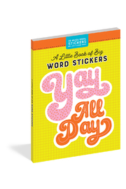 Workman Publishing A Little Book Of Big Stickers - Front cropped