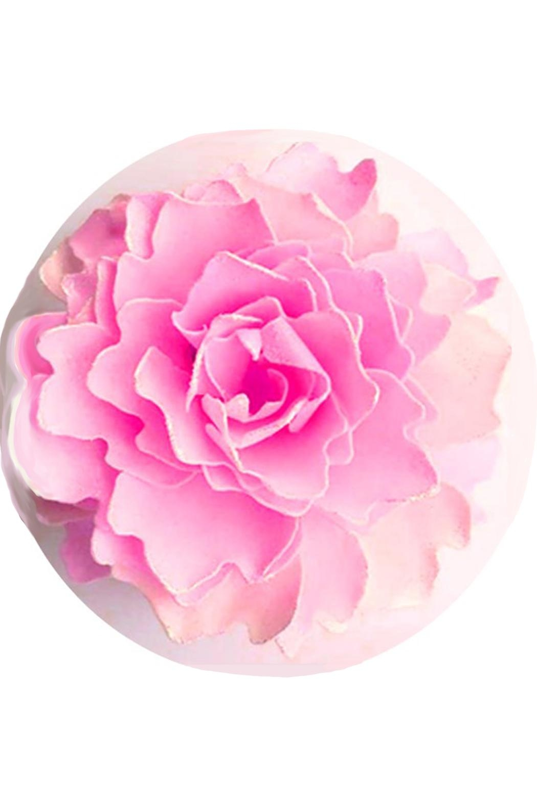 A'Marie's Bath Flower Shop Flower-Soap Pink Patty - Main Image