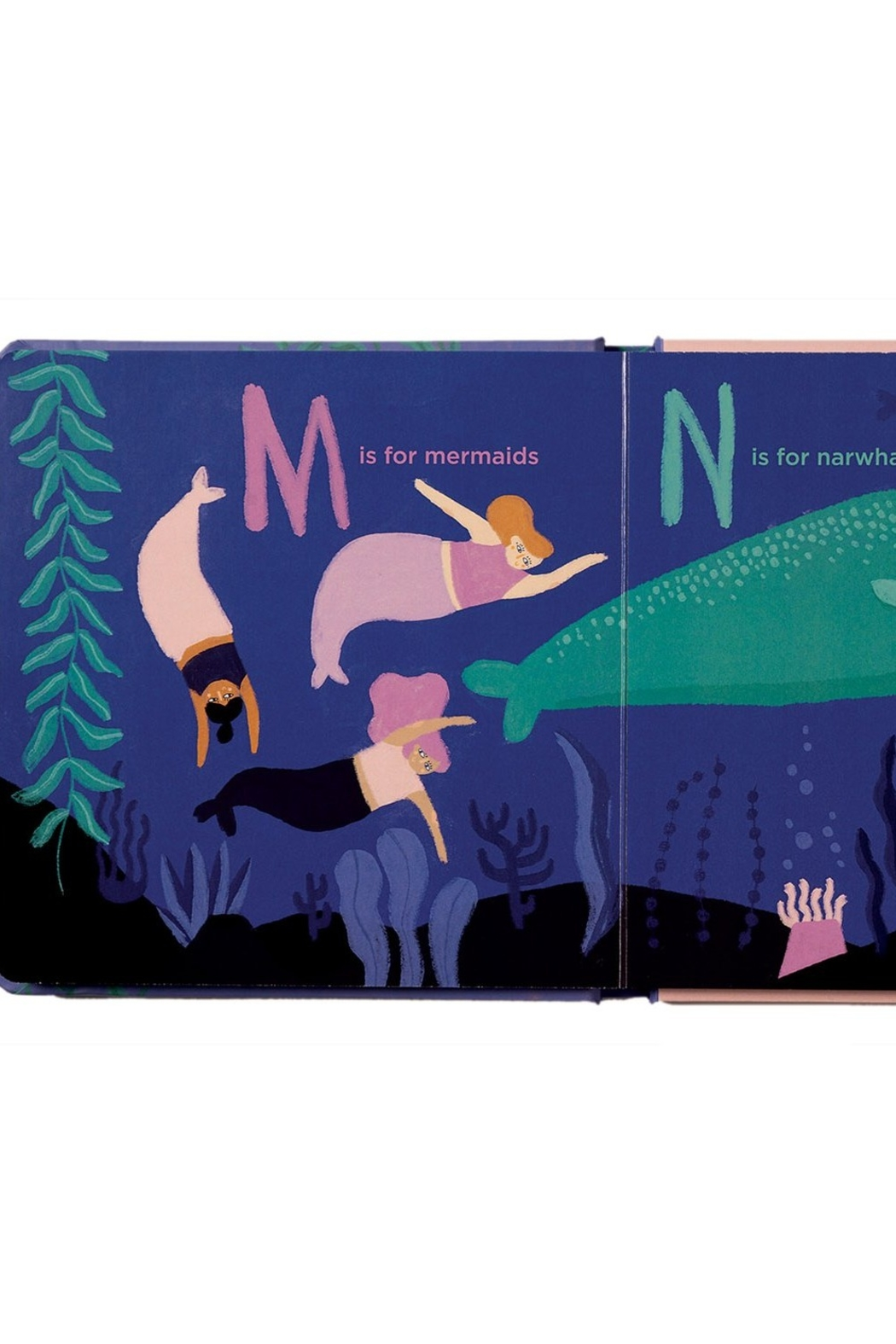 Manhattan Toy Company A Mermaid's ABCs - Front Full Image