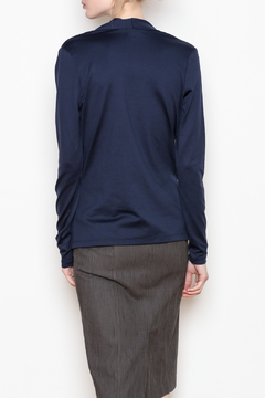A'Nue Ligne Wrap Top - Alternate List Image