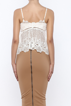 Shoptiques Product: Crochet Crop Top