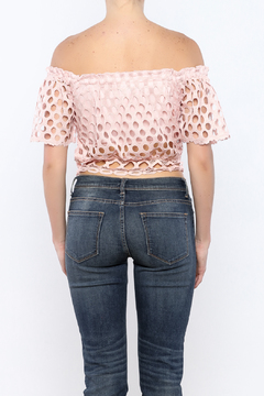 Shoptiques Product: Loose Knit Crop Top
