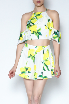 Shoptiques Product: Lemon Short Set