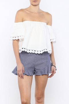 Shoptiques Product: Off Shoulder Crop
