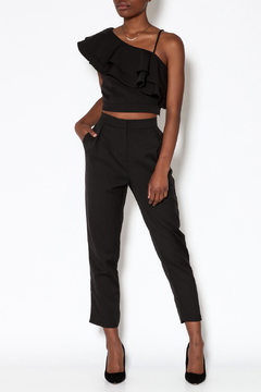 A Peach Black Pant Set - Product List Image