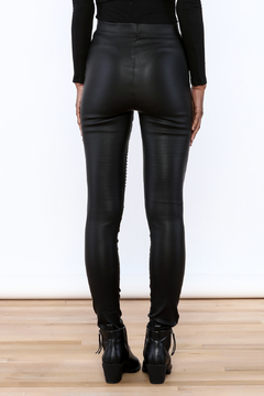 Shoptiques Product: Faux Leather Moto Pant