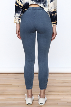 A Peach Casual Denim Jeggings - Alternate List Image